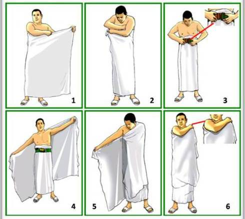 Conditions To Wear Ihram - Travel for Umrah